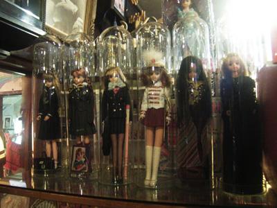 ガラスドーム 着せ替え人形