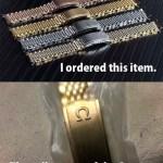 中国の通販サイトAliexpressで腕時計ブレスを買ったら偽OMEGAが届いて紛争来たー! OMEGAに報告します