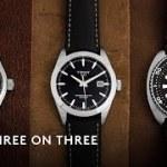 セイコー、ハミルトン、ティソ アンダー10万円の時計を徹底比較 スリー・オン・スリー  HODINKEE Japan