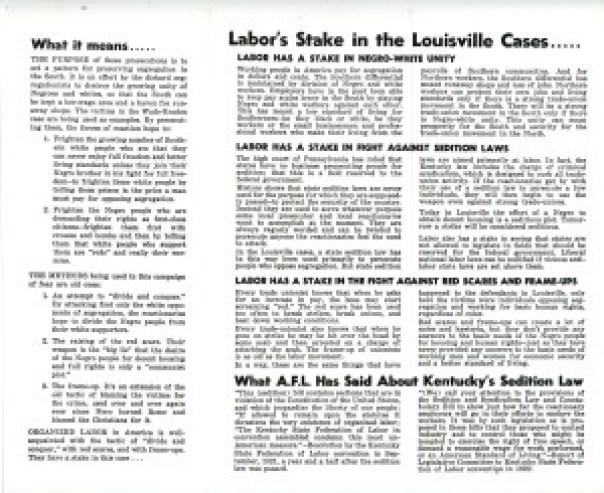 Case -  Labor's Stake