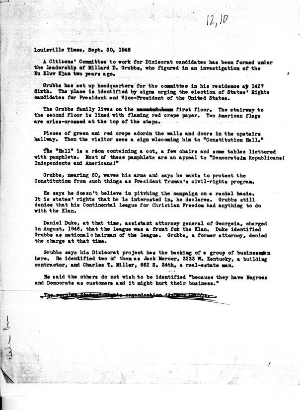 LouisvilleTimesDixiecrats1948