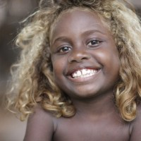 Black People with Naturally Blonde Hair