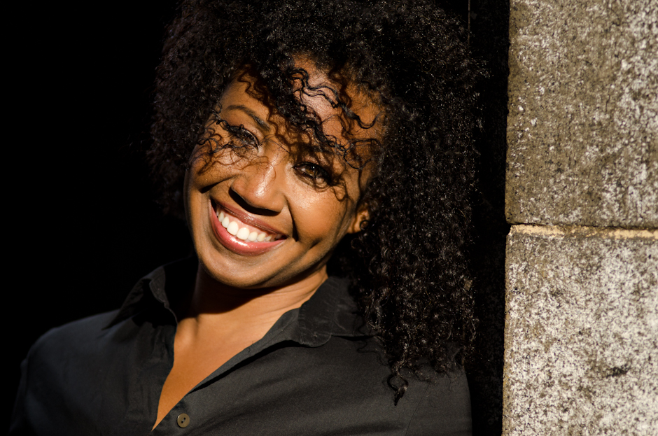 Actress Tanya Wright Of True Blood Natural Hair Style