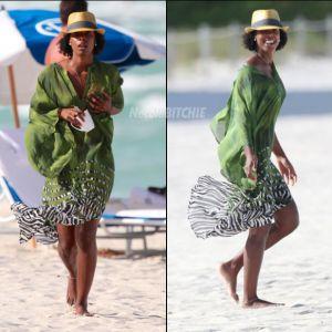 Kelly-Rowland-Miami-Beach-stroll