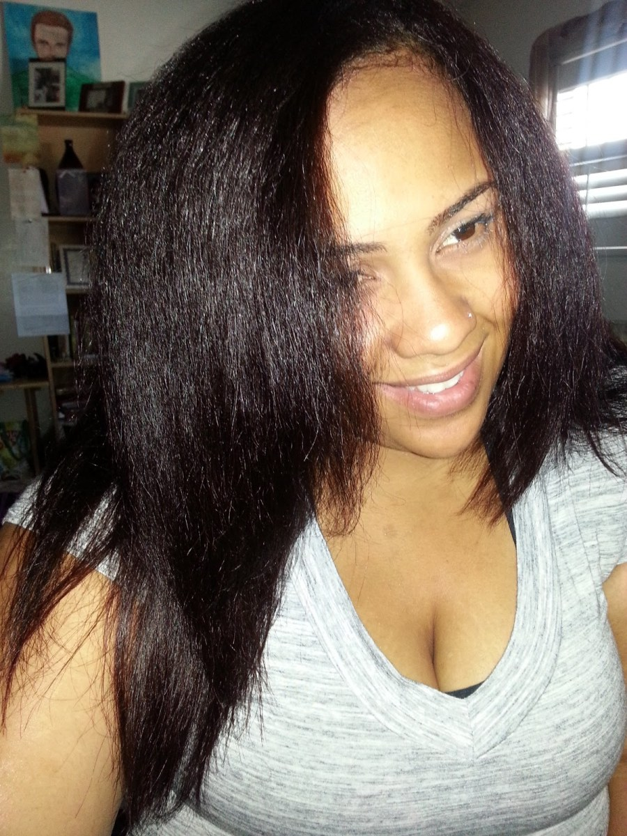 Straighten C Natural Hair Styles