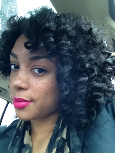 Chrissy 3C Natural Hair Style Icon Black Girl With