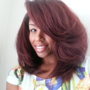 monica 3a natural hair style icon black girl with