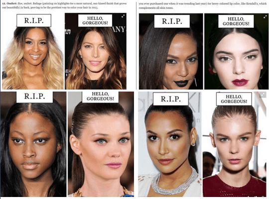 Was It Racist Cosmopolitan Magazine S Beauty Guide Seems