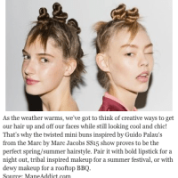 "White Hair Blog Claims Bantu Knots Were ""Inspired"" By Marc Jacobs, Black Twitter Goes Nuts"