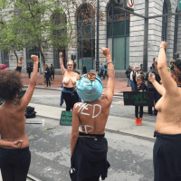 Black Women March Topless To Protest Police Killings of Unarmed Black Women