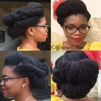 Chinwe from Nigeria // Type 4 Natural Hair Icon