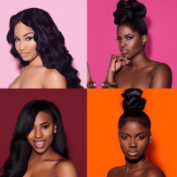 Melanin x Color: NY Photographer Poses Black Women Against Colored Backdrops for Stunning Photo Series