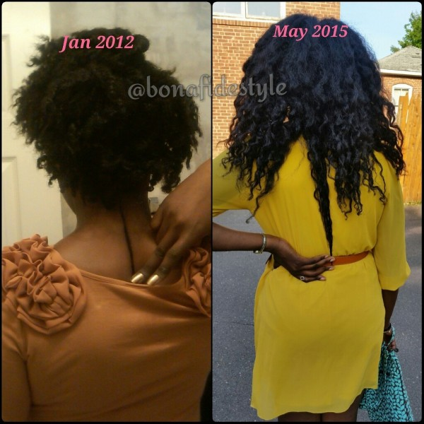 tori bonafidestyle natural hair comparison