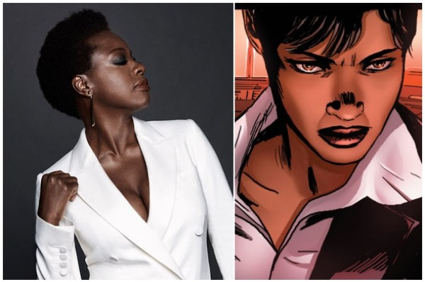 viola davis as dr. amanda waller