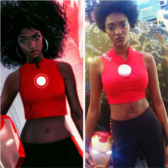[Pics] Black Woman Have Been Cosplaying as Riri Williams and It's Awesome
