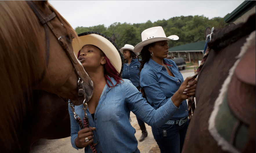 [Pics] Cowgirls of Color: Stunning Images of One of the Country's Only All-Black-Woman Rodeo Teams
