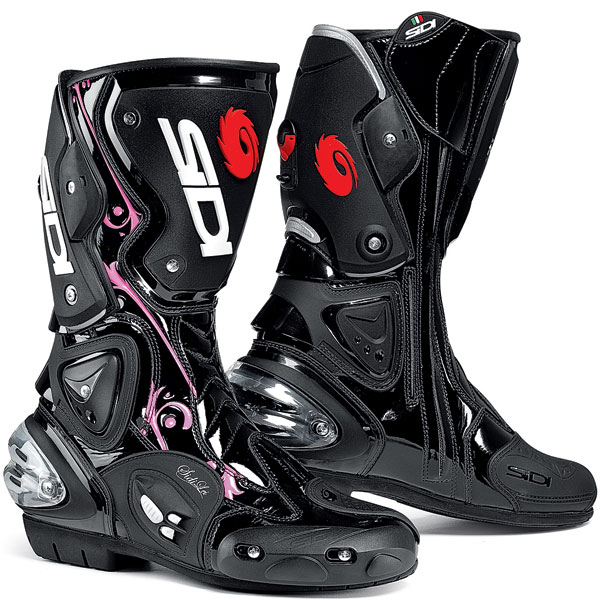 2010-Sidi-Womens-Vertigo-Lei-Boots-Black-Vernice-Pink