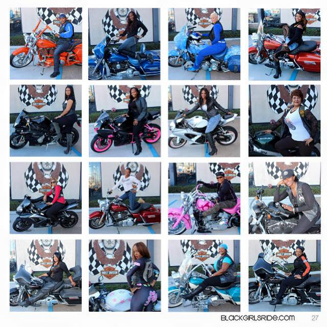 beautiful bikers photoshoot