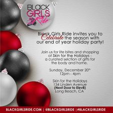 Black Girls Ride Holiday Party