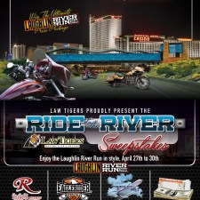 Law Tigers present the 'Ride to the River Sweepstakes'
