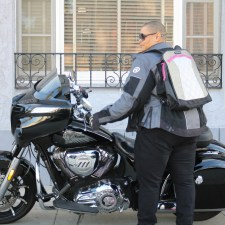 Geared Up: Motochic's Lauren Sport Bag