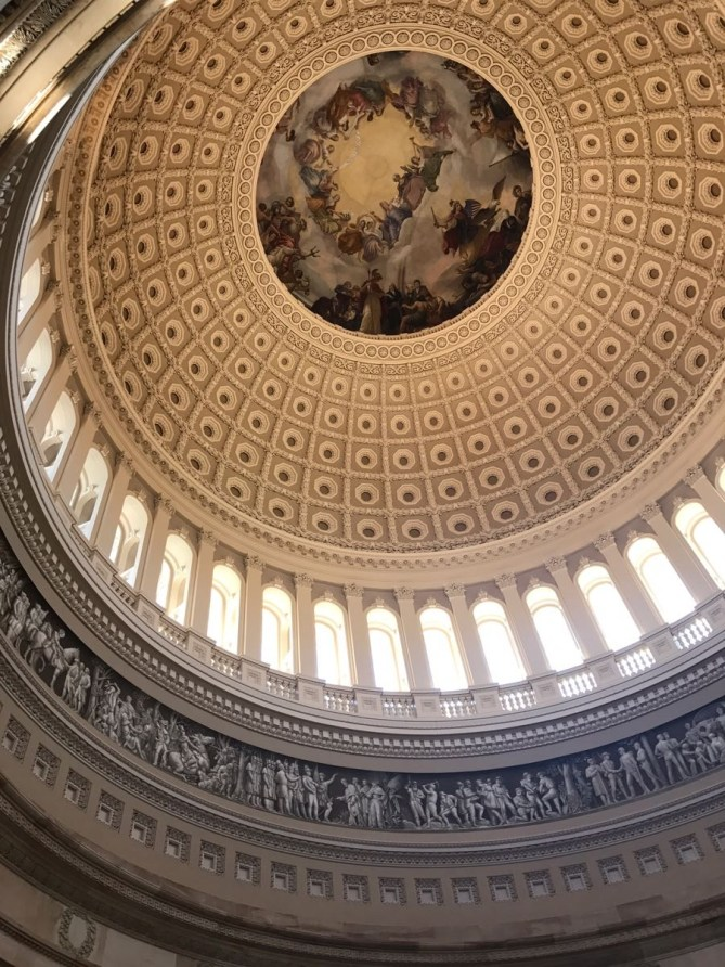 The famous rotunda! One of the prettiest things you'll see in D.C.