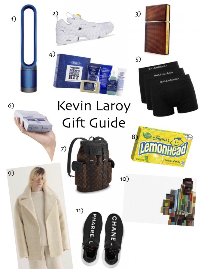 Holiday Gift Guide- Kevin