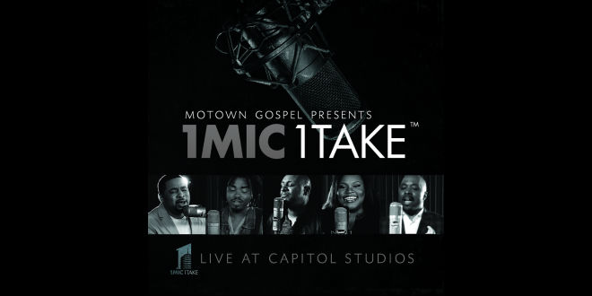 Motown Gospel Presents '1 Mic 1 Take' Live at Capitol Studios on June 3 | @MotownGospel