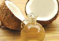 Coconut oil for blackheads and acne