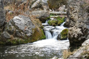 Iron Creek Trail waterfalls - Spearfish Canyon