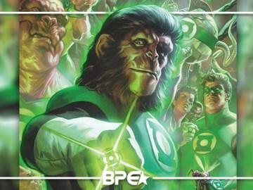 Lanterna Verde x Planeta dos Macacos