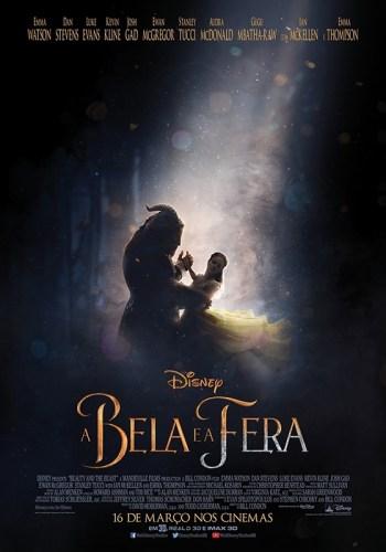 Poster - A Bela e A Fera (2017)