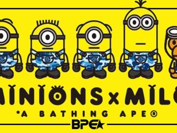 BAPE x Minions