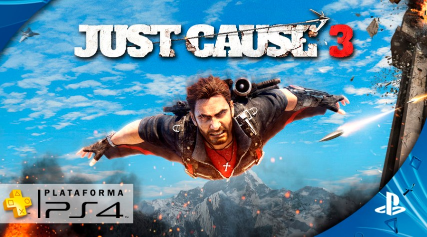Playstation Plus - Setembro - Just Cause