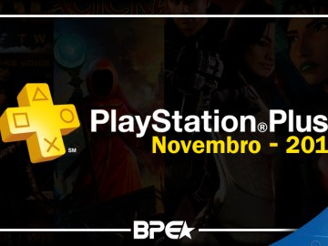 Playstation Plus - Novembro 1