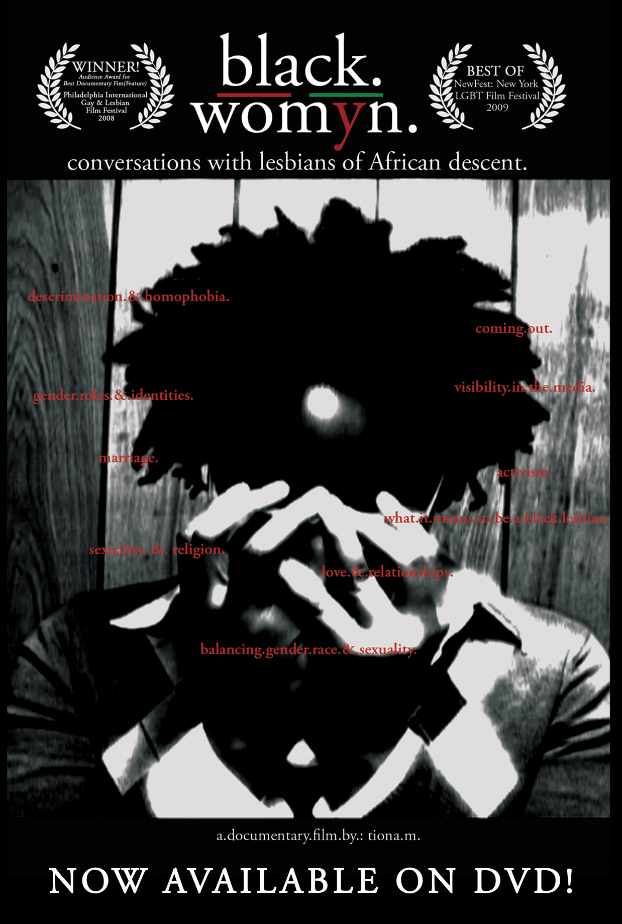 Poster do filme Black./Womyn.: Conversations with Lesbians of African Descent