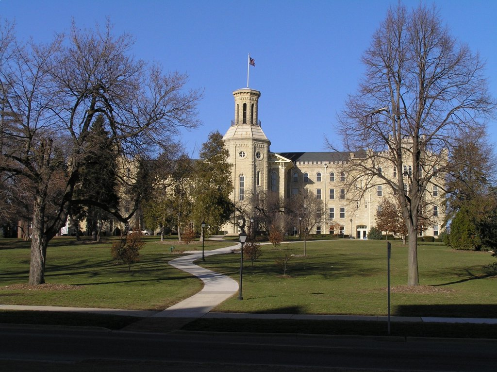 Wheaton College's Blanchard Hall