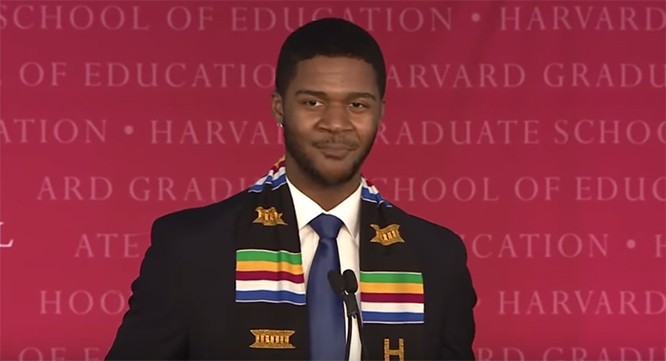 Harvard Graduate Gives Powerful Spoken Word Poem at Graduation