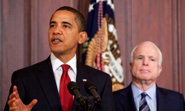 President Obam John McCain