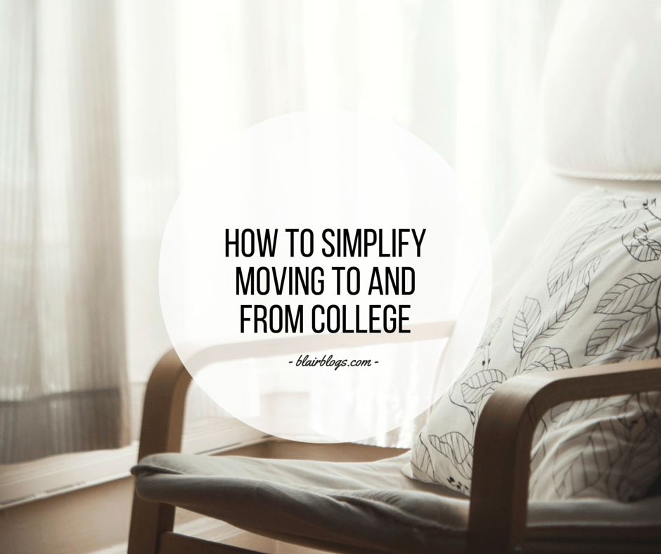 How To Simplify Moving To and From College   EP16 Simplify Everything