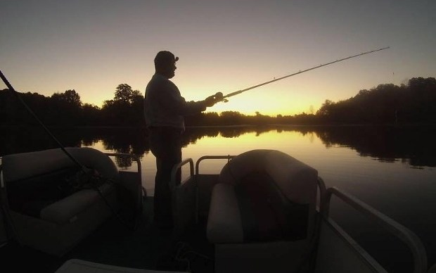 Paul sunset fishing