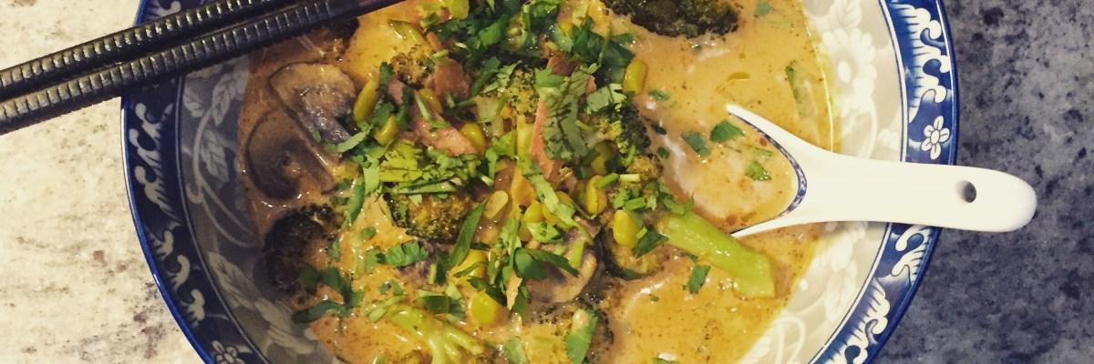 Thai Coconut Curry Soup (28)