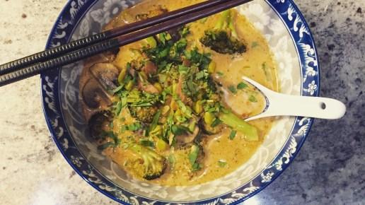 Thai Coconut Curry Soup!