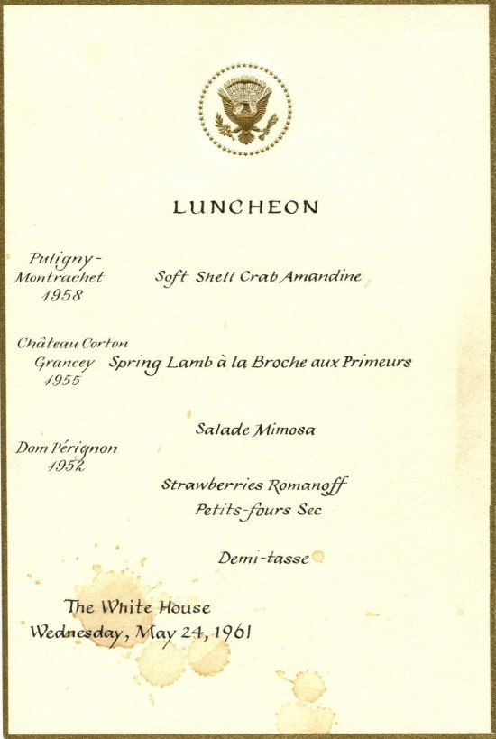 WhiteHouseMenu