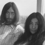 John Lennon Yoko Ono Bed-in