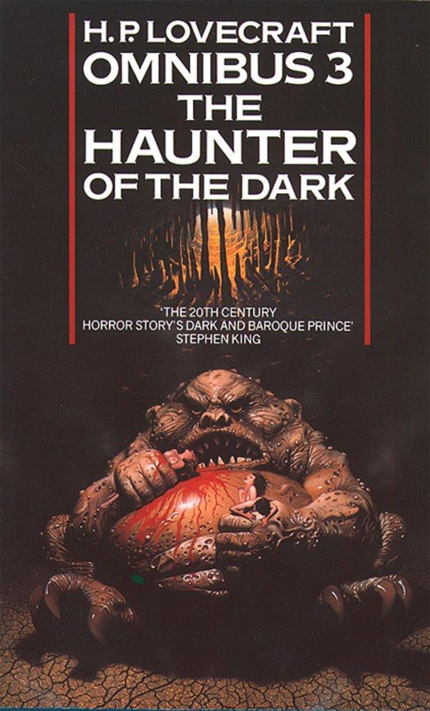 haunter of the dark cover
