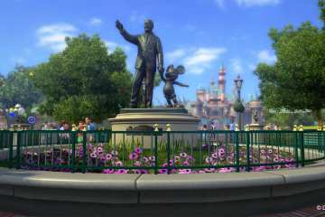 KDA Partners Walt Disney Statue