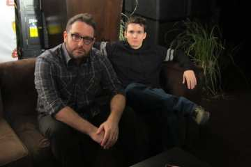 Colin Treverrow and Derek Connolly (Photo Credit/SteveHeller)