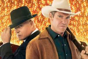 "Michael Chiklis and Dennis Quaid star in the new show ""Vegas"""