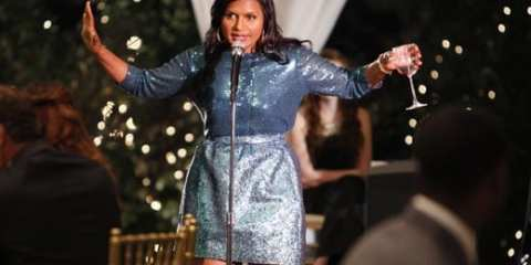 Mindy Kaling stars as Dr. Mindy Lahiri in her new series, The Mindy Project.